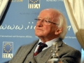 President of Ireland, Michael D Higgins.