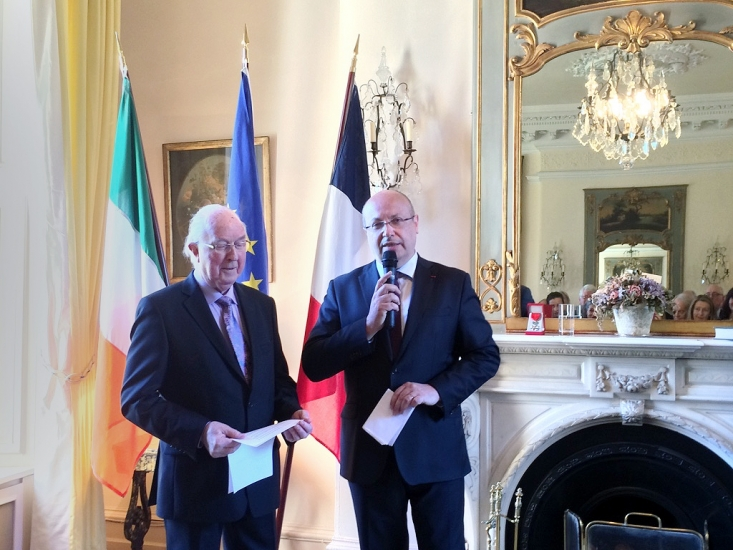 03 - H.E. Jean-Pierre Thébault describes Brendan Halligan's achievements