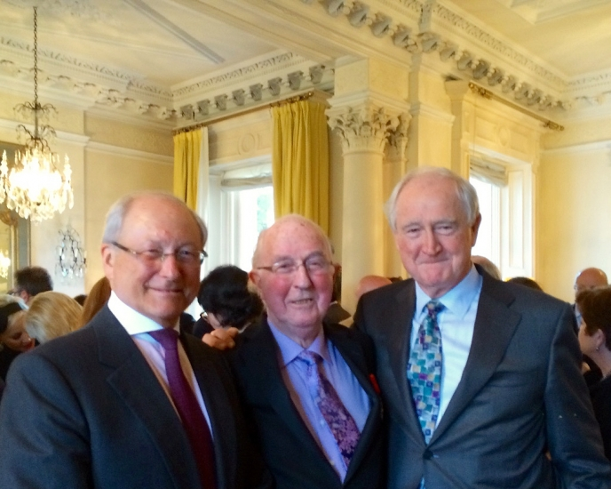09 - Brendan Halligan, Sir Roy Gardner and Eddie-O'Connor at the Ceremony