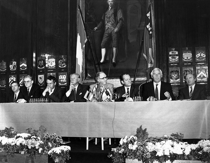 The Single European Act Press Conference, 1987