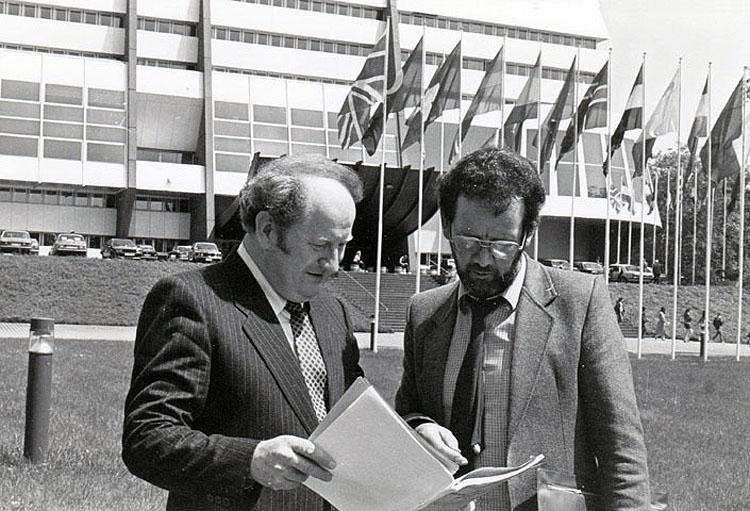 Seamus Patterson, MEP, Strasbourg