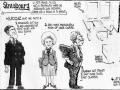 Cartoon of Brendan Halligan's European Office  by Ronnie Turner, Irish Times, 1984.