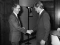 Brendan Halligan and Piet Dankert 1983