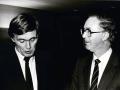 Brendan Halligan in conversation with Piet Dankert, 1983