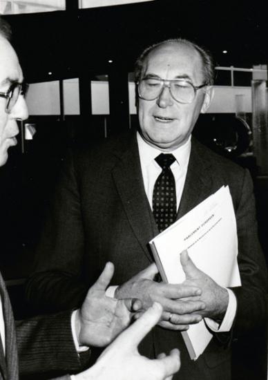 Wim Albers Dutch Labour MEP and Brenda Halligan