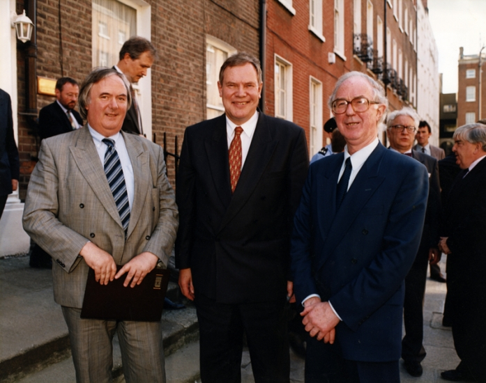 Tony Brown, Paavo Lipponen and Brendan Halligan
