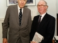 Brendan Halligan and John Kenneth Galbraith