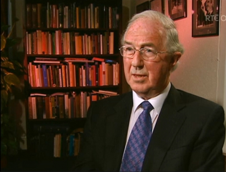 "Brendan Halligan participates in an RTE documentary, ""Lights, Camera Farrell,"" about Brian Farrell's career as a political journalist."