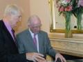 Dr Eddie O'Connor and Brendan Halligan, Chairman IIEA, discuss an alternative energy Super Node