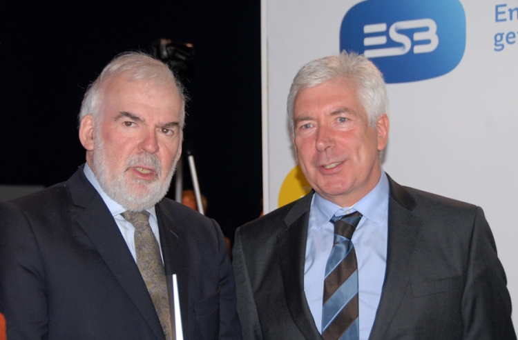 11 - Tom Arnold, Director General of IIEA and Alex White, TD for Communications, Energy and Natural Resources.