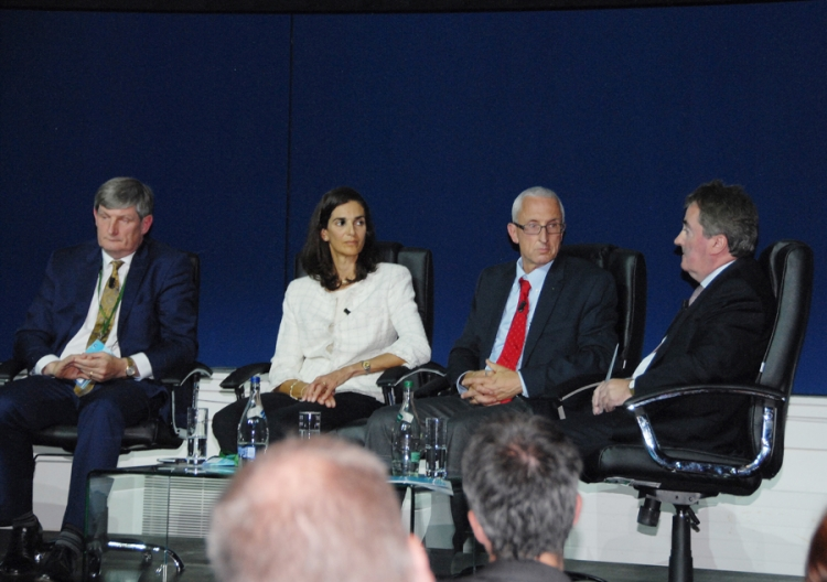 19 - Session Four Panelists: Pat O'Doherty, Chief Executive, ESB, Dr. Eleni Pratsini, Director, IBM Research, Ireland,  Mark McGranaghan, Vice President, Electric Power Research Institute, Seán O'Driscoll, Chief Executive, Glen Dimplex.