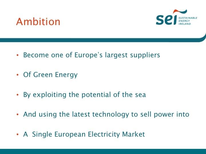 6 Europe's Energy Exporter - Brendan Halligan