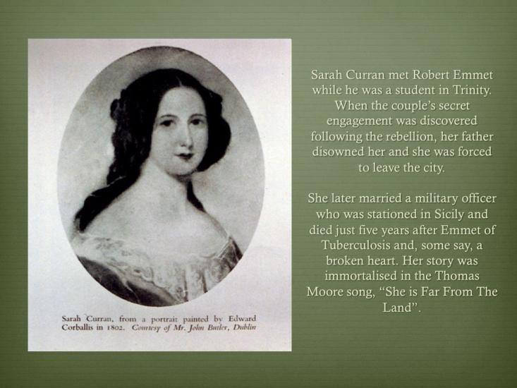 8 Robert Emmet 1778-1803