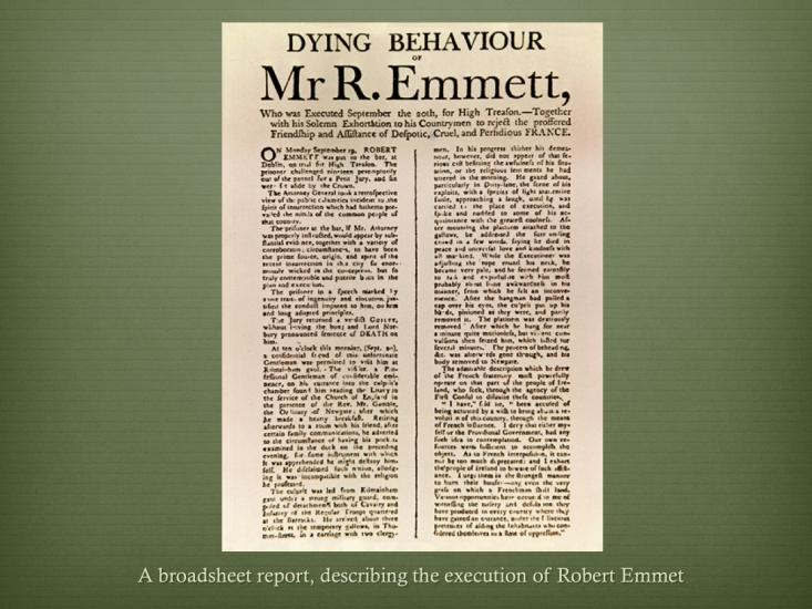 25 Robert Emmet 1778-1803