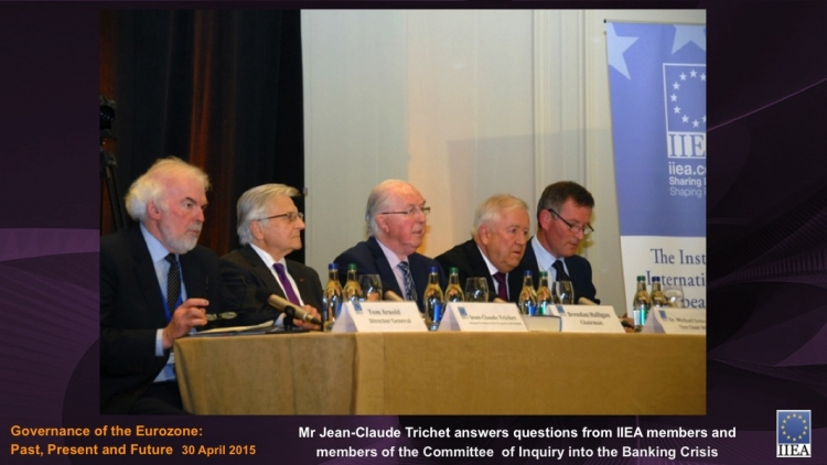 Mr Jean-Claude Trichet answers questions from IIEA Members and Members of the Committee of Inquiry into the Banking Crisis