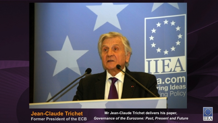 Mr Jean-Claude Trichet delivers his paper