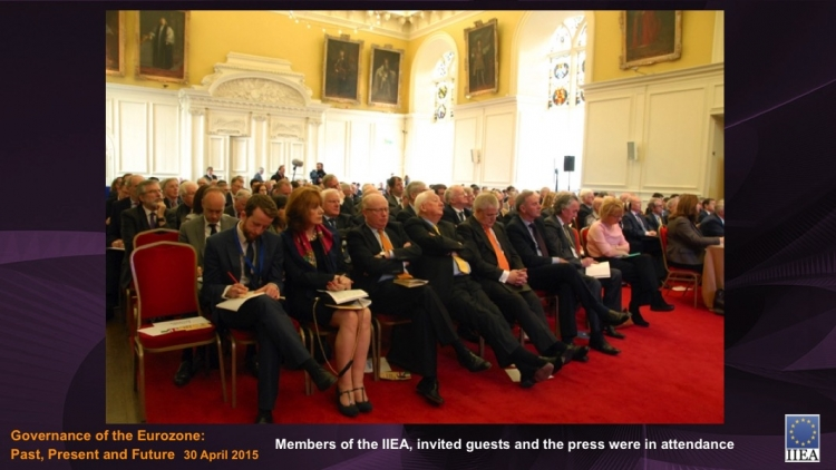 Members of the IIEA, invited guests and the press were in attendance