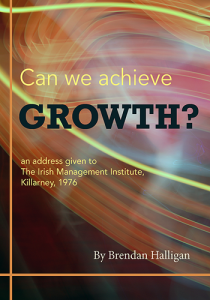 Can We Achieve Growth? By Brendan Halligan