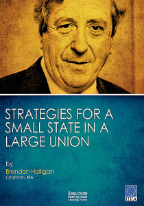 Strategies for a Small State in Large Union - The Dr. Garret Fitzgerald Lecture 2013 By Brendan Halligan