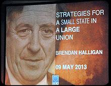 Dr Garret FitzGerald Lecture Photos - Brendan Halligan