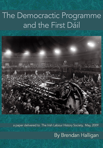 The Democratic Programme and the First Dáil by Brendan Halligan