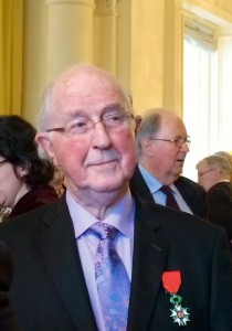Brendan Halligan conferred France's highest honour