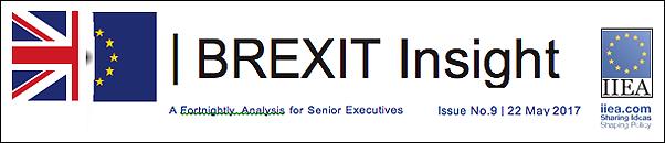 Brexit Insight No 9 by Brendan Halligan