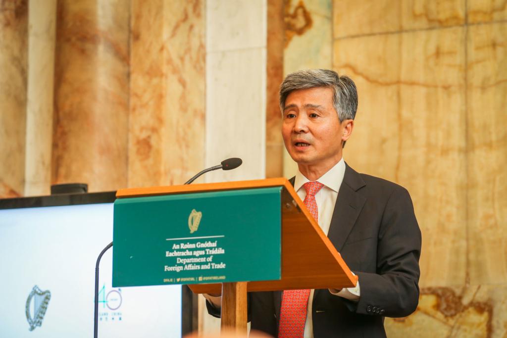 H.E. Ambassador He Xiangdong - Chinese Ambassador to Ireland