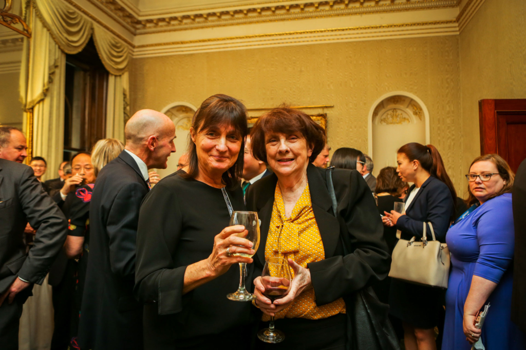 ICI Board Members Susan Barrett and Mary Ruane