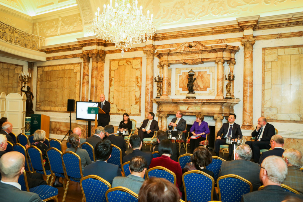 """ICI Chairman bids fairwell to attendees at the """"Ireland China Institute – Looking Forward to the Next Forty Years"""" event"""